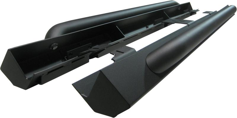 Rock Rail Kit (4 door), LineX Coated