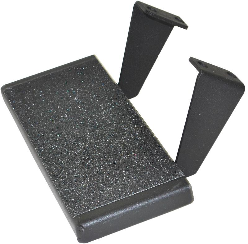 Rock Rail Step, Black Coated
