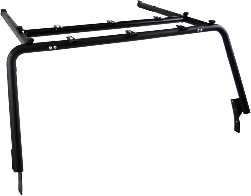 Front Roof Rack Extension (4 Door), Black Coated
